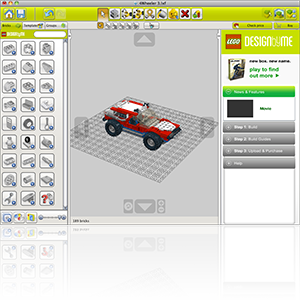 Lego Designer screen shot